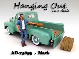 American Diorama - Figures  - AD23855 : 1/18 *Hanging Out* Mark