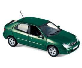 Citroen  - 2003 green - 1:43 - Norev - 154304 - nor154304 | Tom's Modelauto's