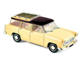 Simca  - 1957 yellow/black - 1:43 - Norev - nor574055 | Tom's Modelauto's