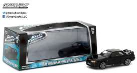 Nissan  - 1989 black - 1:43 - GreenLight - 86229 - gl86229 | Toms Modelautos