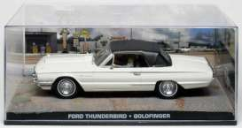 Ford  - Thunderbird 1964 white - 1:43 - Magazine Models - JBthunGold - magJBthunGold | Toms Modelautos