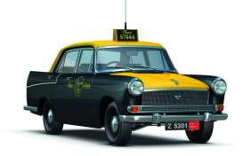 Austin  - black/yellow - 1:43 - Magazine Models - JBA55 - magJBA55 | Toms Modelautos
