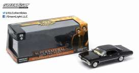 GreenLight - Chevrolet  - gl86441 : 1967 Chevrolet Impala 4-door *Supernatural TV Series*. In Original Supernatural Packaging.