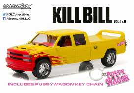 Chevrolet  - 1997 yellow/pink - 1:18 - GreenLight - 19015 - gl19015 | Tom's Modelauto's