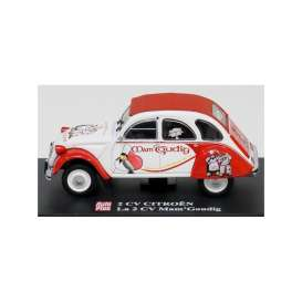 Citroen  - white/red - 1:43 - Magazine Models - AP2cvMam - magAP2cvMam | Toms Modelautos