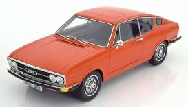 Audi  - 1971 orange - 1:18 - KK - Scale - kk18001o | Tom's Modelauto's