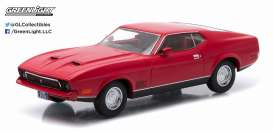 GreenLight - Ford  - gl86304 : 1971 Ford Mustang Mach I *Diamonds are Forever Look-a-Like*, red