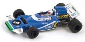 Matra  - 1971 blue - 1:43 - Spark - s1592 - spas1592 | Tom's Modelauto's