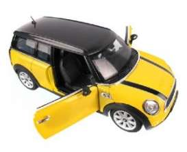 Mini  - yellow - 1:24 - Rastar - rastar37400y | Toms Modelautos