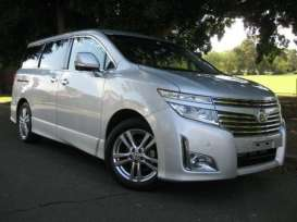 Kyosho - Nissan  - kyo3881bs : Nissan Elgrand Highway star, brilliant silver