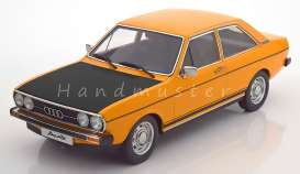 Audi  - 1972 yellow/black - 1:18 - KK - Scale - kkdc180031 - kkdc180031 | Toms Modelautos
