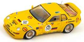 Porsche  - 1994 yellow - 1:43 - Spark - s4178 - spas4178 | Tom's Modelauto's
