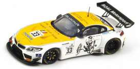BMW  - 2014 yellow/white - 1:43 - Spark - sp072 - spasp072 | Tom's Modelauto's