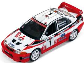 Mitsubishi  - 1998 red/white - 1:43 - IXO Models - ixram521 | Tom's Modelauto's