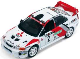 Mitsubishi  - 1998 red/white - 1:43 - IXO Models - ixram524 | Tom's Modelauto's