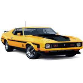 Ixo Premium X - Ford  - ixPRD397 : 1971 Ford Mustang Mach 1, yellow