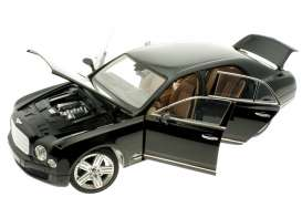 Bentley  - 2014 black - 1:18 - Rastar - rastar43800bk | Toms Modelautos