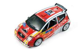 Citroen  - C2 1600 #55 2006 red/white - 1:43 - IXO Models - ixram245 | Tom's Modelauto's