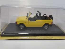 ARO  - yellow - 1:43 - Magazine Models - maglcARO | Tom's Modelauto's