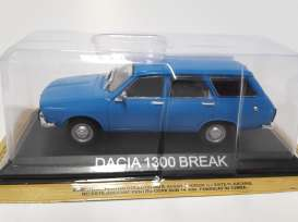 Dacia  - blue - 1:43 - Magazine Models - LCda1300break - magLCda1300break | Tom's Modelauto's