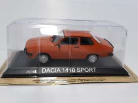 Dacia  - orange - 1:43 - Magazine Models - LCda1410 - magLCda1410 | Tom's Modelauto's