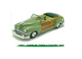 Chrysler  - 1947 heather green - 1:43 - Vitesse SunStar - 36221 - vss36221 | Toms Modelautos