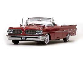 Pontiac  - 1959 mandalay red - 1:18 - SunStar - 5183 - sun5183 | Tom's Modelauto's