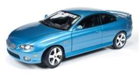 Pontiac  - 2004 blue - 1:18 - Auto World - AMM1025 | Tom's Modelauto's