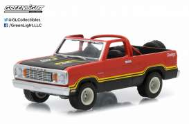 Dodge  - 1978 custom orange - 1:64 - GreenLight - 35010C - gl35010C | Tom's Modelauto's
