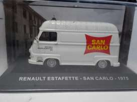 Renault  - 1972 white/red - 1:43 - Magazine Models - magPUBreEsta | Tom's Modelauto's