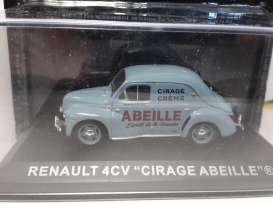 Renault  - blue - 1:43 - Magazine Models - MagPUBRE4abeille | Tom's Modelauto's