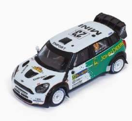 Mini  - 2013 green/white - 1:43 - IXO Models - ixram547 | Tom's Modelauto's