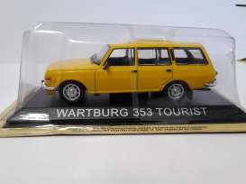 Magazine Models - Wartburg  - magLCwa353tou : 1974 Wartburg 353 tourist *Legendary cars* yellow
