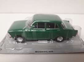 Moskwitch  - 1964 green - 1:43 - Magazine Models - magPCmos408gn | Tom's Modelauto's