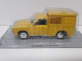 Syrena  - yellow - 1:43 - Magazine Models - magPCsy105Bosto | Tom's Modelauto's