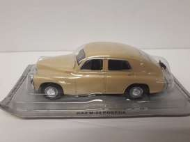 GAZ  - light brown - 1:43 - Magazine Models - pcGazM20 - magpcGazM20 | Toms Modelautos