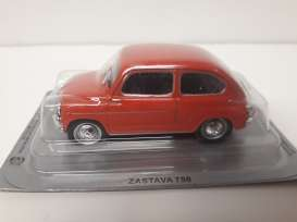 Magazine Models - Zastava  - magPCzas750r : Zastava 750 *Polish cars* red
