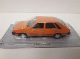 Magazine Models - FSO  - magpcPolonez : FSO Polonez coupe *Polish cars* orange