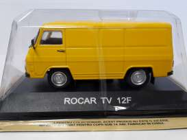 Rocar  - yellow - 1:43 - Magazine Models - maglcRocar12 | Tom's Modelauto's