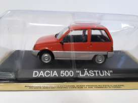 Dacia  - orange/silver - 1:43 - Magazine Models - magLCda500 | Tom's Modelauto's