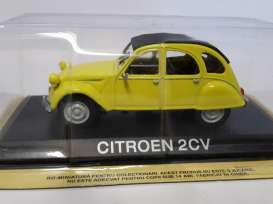 Citroen  - yellow - 1:43 - Magazine Models - maglc2CV | Tom's Modelauto's