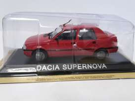 Magazine Models - Dacia  - maglcDaSupern : Dacia Supernova *Legendary cars* red