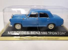 Mercedes Benz  - blue - 1:43 - Magazine Models - lcMBponton - maglcMBponton | Tom's Modelauto's