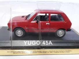 Magazine Models - Yugo  - maglcYugo45A : Yugo 45A *Legendary cars* red