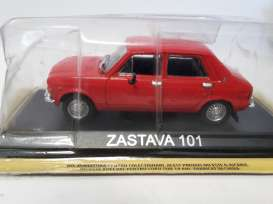 Magazine Models - Zastava  - maglcZas101 : Zastava 101 *Legendary cars* red