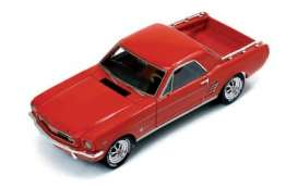 Ford  - 1966 red - 1:43 - Ixo Premium X - pr467R - ixpr467R | Toms Modelautos