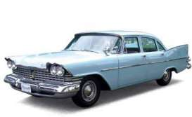 Plymouth  - 1959 light blue - 1:43 - Ixo Premium X - PRD262 - ixPRD262 | Toms Modelautos