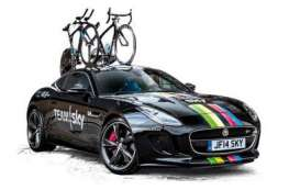 Ixo Premium X - Jaguar  - ixPRD510 : 2014 Jaguar F-type coupe R Team Sky UCI Elite TT World Champion, black