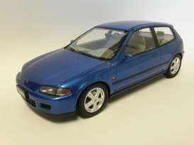 Honda  - 1992 metallic blue - 1:18 - Triple9 Resin series - T9R1800101 | Toms Modelautos