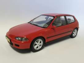 Honda  - 1992 red - 1:18 - Triple9 Resin series - T9R1800100 - T9R1800100 | Toms Modelautos
